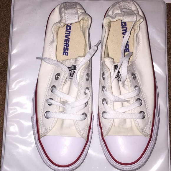 d1ed779fdb9f Converse Shoes - White Shoreline Converse Size 7 Women
